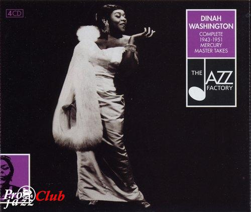 (Vocal / Jazz) Dinah Washington - Complete 1943-1951 Mercury Master Takes 4CD - 2001, FLAC (image+.cue), lossless
