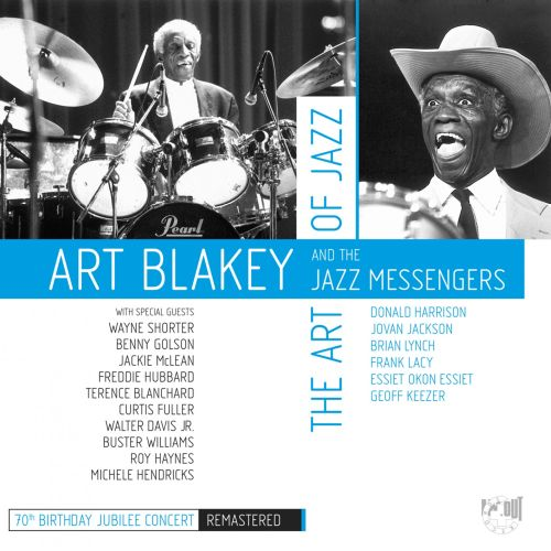 1989 Art Blakey & The Jazz Messengers - The Art of Jazz 70th Birthday Jubilee Concert (2019) {In+Out} [24-44,1]