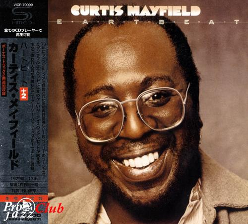 (Funk, Soul) [CD] Curtis Mayfield - Heartbeat (1979) - 2009 {Japan SHM-CD, VICP-70099}, FLAC (tracks+.cue), lossless