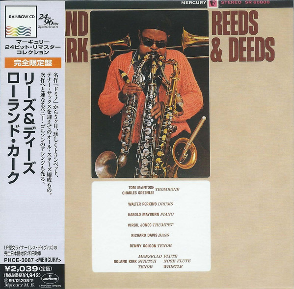 1963 Roland Kirk - Reeds and Deeds (1997) {Mercury MG20800} [WEB]
