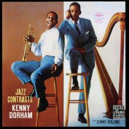 1957 Kenny Dorham with Sonny Rollins - Jazz Contrasts (2007) {Reiverside, Concord RCD-30132-2} [CD]