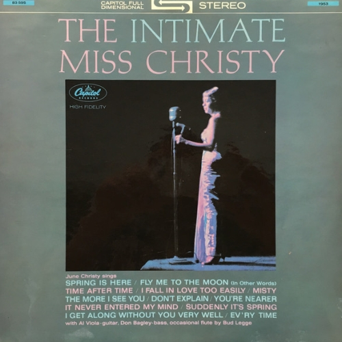 1963 June Christy - The Intimate Miss Christy (2019) {RevOla} [24-44,1]