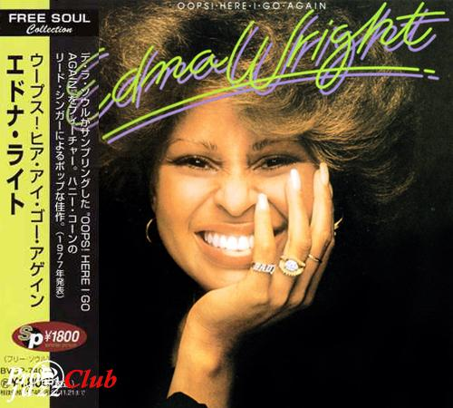 (Soul) [CD] Edna Wright - Oops! Here I Go Again (1977) - 1995, FLAC (tracks+.cue), lossless
