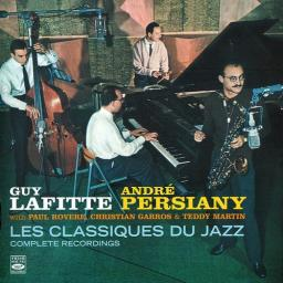 1955-1957 Guy Lafitte & Andre Persiany - Les Classiques du Jazz (2018) {Fresh Sound FSR-CD 953} [CD]
