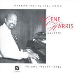 1993 Gene Harris - Live at Maybeck Recital Hall, Vol. 23 {Concord Jazz} [CD]