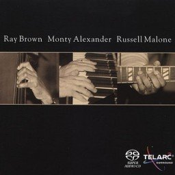 2002 Ray Brown - Ray Brown, Monty Alexander & Russell Malone (2CD) {Telarc CD-83562}
