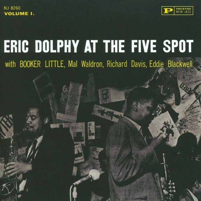 1961 (1991) Eric Dolphy - At The Five Spot, Vol.1