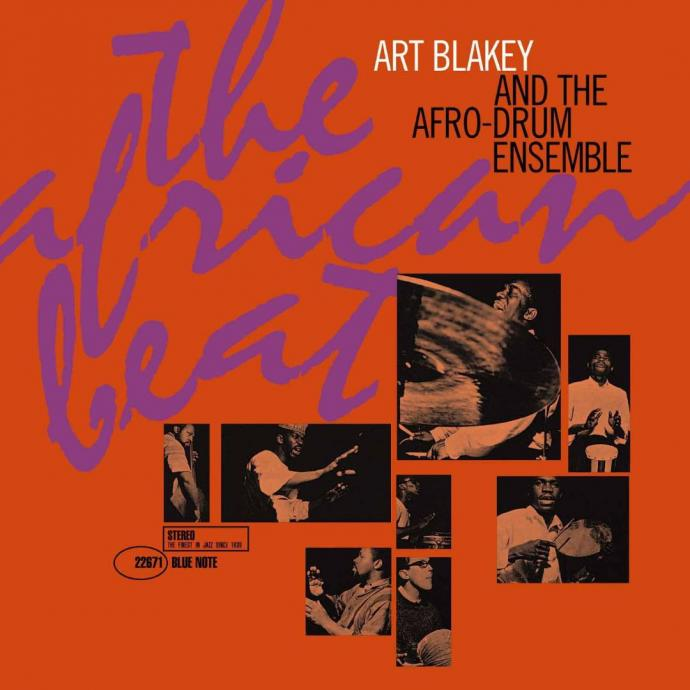 1962 (1999) Art Blakey and The Afro-Drum Ensemble - The African Beat