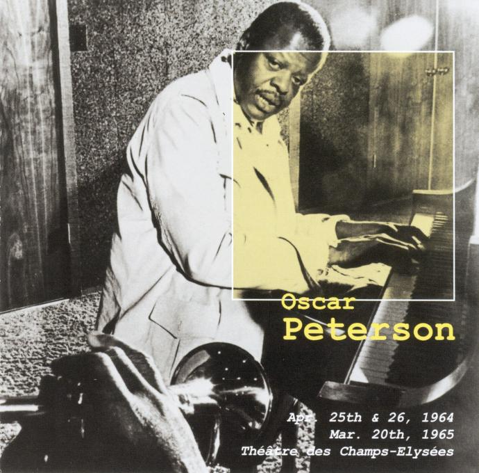 1964-1966 (2002) Oscar Peterson Trio - Paris Jazz Concert Set 2 (2CD) {Delta 17431, 17432}