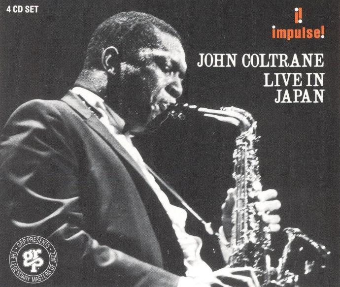 1966 John Coltrane - Live In Japan (1991) {Impulse!/GRP 41022 (LC-0236)} [4CD]