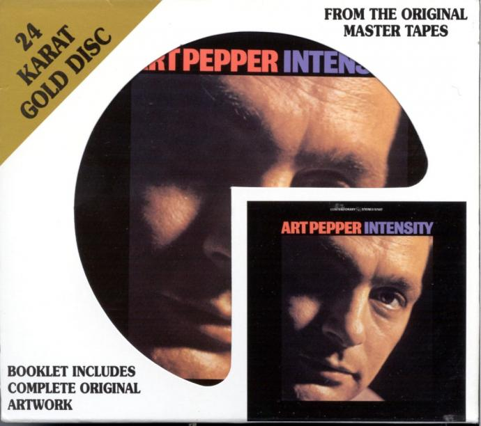 1960 Art Pepper - Intensity(1997)  {DCC GZS-1114} [CD]
