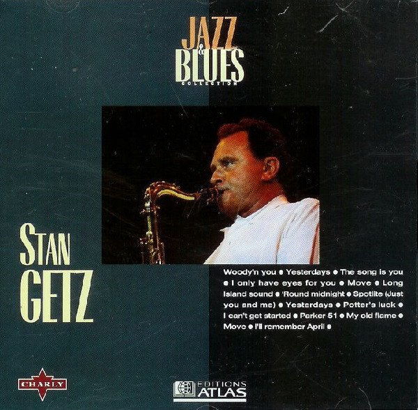 1952 (1995) Stan Getz - Jazz & Blues Collection 28 {Editions Atlas WIS CD 628}