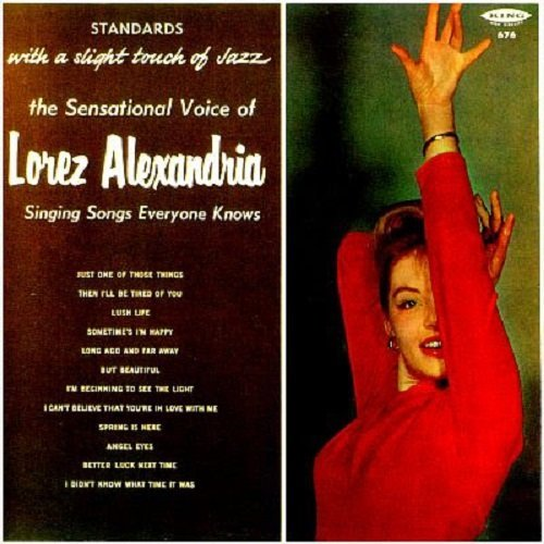 1959 (1988) Lorez Alexandria — Sings Songs Everyone Knows {King KCD-676}