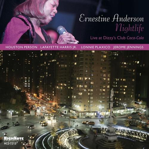 2011 Ernestine Anderson - Nightlife: Live at Dizzy's Club Coca-Cola {HighNote HCD 7213}