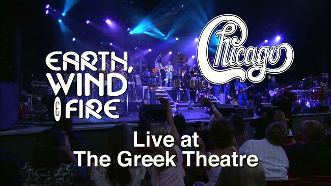 2004 Chicago & Earth, Wind Fire - Live at the Greek Theatre [BDRip 1080p] (part 1)