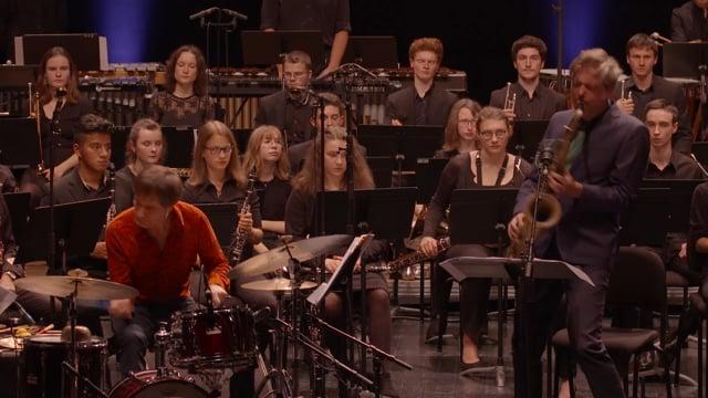 2018 Das Kapital & Royal Symphonic Wind Orchestra - Eisler Explotion at Festival Jazzdor de Strasbourg