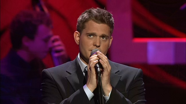 2005 Michael Buble - Caught in the Act [Blu-ray]